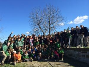 Foto di gruppo a Fontanelice (BO)